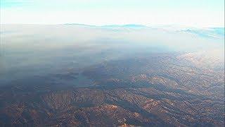 Resurgent Thomas Fire burns 360 square miles | ABC7