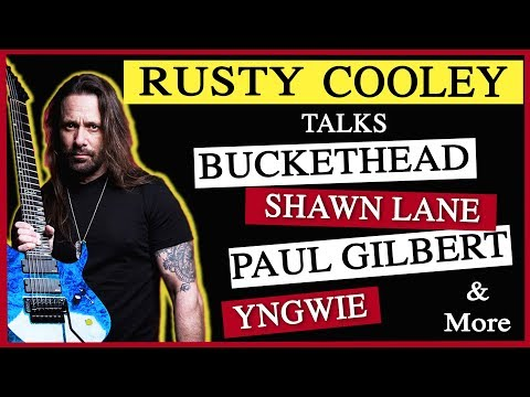 Rusty Cooley talks Buckethead, Yngwie, Shawn Lane & more (NatterNet Interview)
