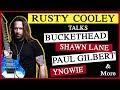 Rusty Cooley talks Buckethead, Yngwie, Shawn Lane & more (NatterNet Interview)