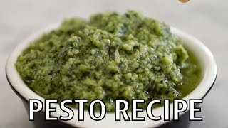 Easy Pesto Recipe (quick)- Benjimantv