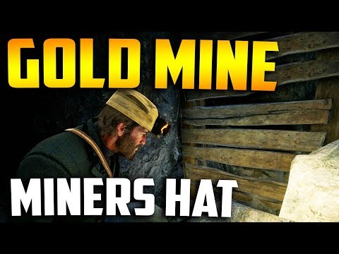 HIDDEN GOLD MINE LOCATION! - Red Dead Redemption 2 Miners Hat Location