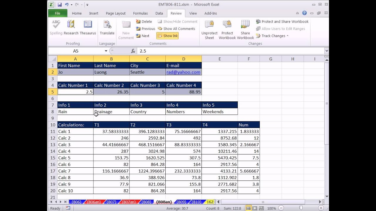 Excel M Gic Trick 808 Copy Sheet Nd L K Ly Cells With R W