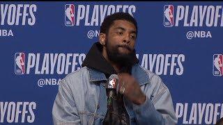 Kyrie Irving Postgame Interview - Game 2 | Celtics vs Bucks | 2019 NBA Playoffs