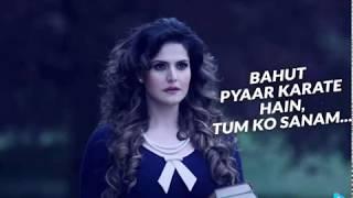 Bahut Pyar Karte Hai | Arijit Singh | Vikram Bhatt | Karan Kundrra | Zareen Khan | 1921 Movie