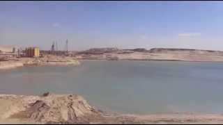 See the first full appearance of the new Suez Canal Bmdkhalha South Baldferssoar