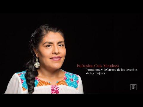 Mujeres poderosas Forbes 2016. Eufrosina Cruz Mendoza streaming vf