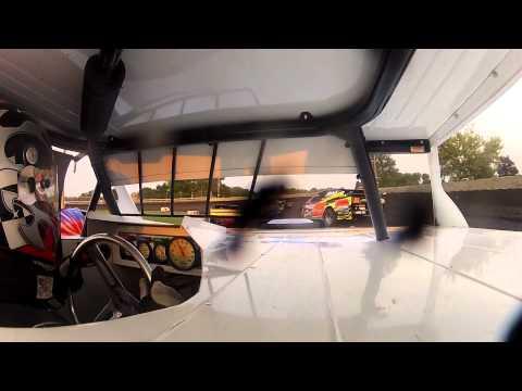 Mike Carlson IMCA Sportmod Algona Raceway Algona, Iowa 2012 GoPro Camera