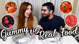 Gummy VS Real Food | Miss Madden