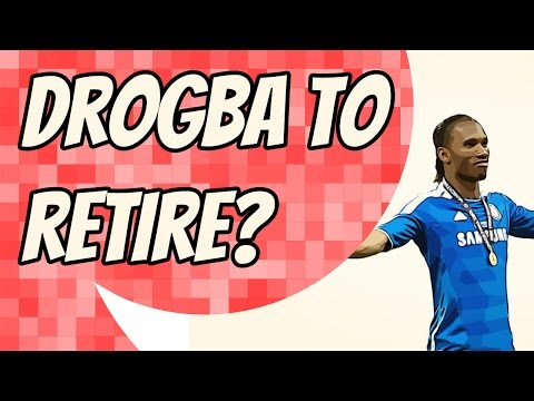 Dider Drogba set to retire and become Jose Mourinho's assistant