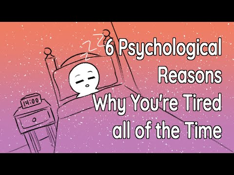 6 Reasons Why You're Tired All The Time