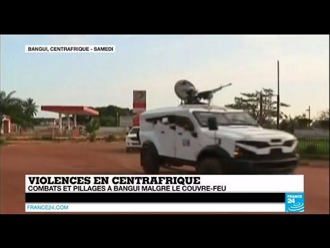 CENTRAFRIQUE - Flambée de violences à Bangui - Le couvre-feu pas respecté
