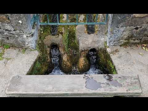 Irish Sacred Spring | Holy Well In Ireland | Healing Water Sounds (3 Min)