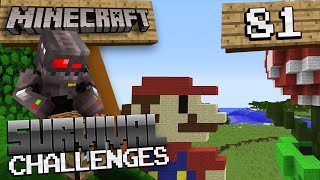 Minecraft Survival Challenges Episode 81: Super Mario
