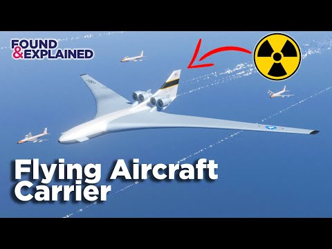 The Nuclear Powered Flying Aircraft Attack Carrier - Never Built CL-1201