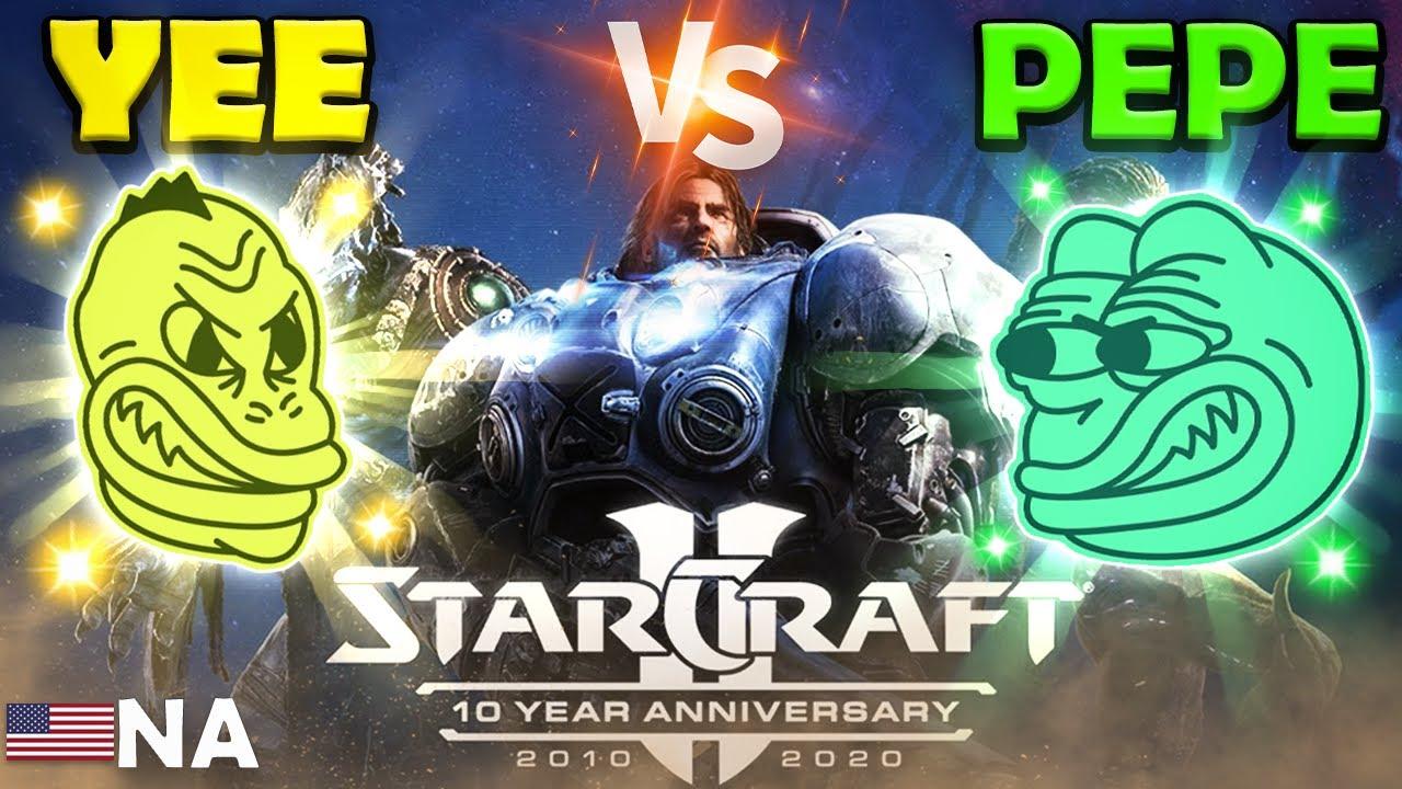 Yee vs Pepe Olympics - NA Starcraft - Event 3