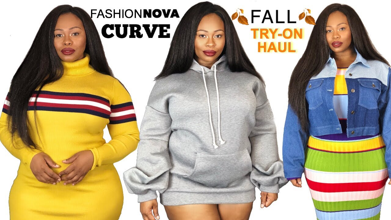 6f238cc6bde HUGE FALL PLUS SIZE TRY-ON HAUL  FT FASHIONNOVACURVE - YouTube