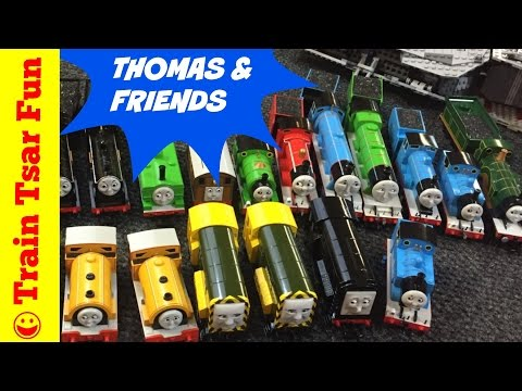 Thomas The Tank Engine & Friends HO Scale Toy Trains Video for Children