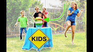 Crazy Watermelon Challenge with Sign Post Kids! Celebrate 500,000 subscribers!