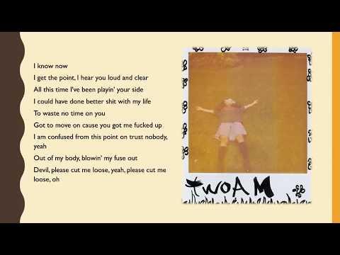 SZA -  twoAM Lyrics