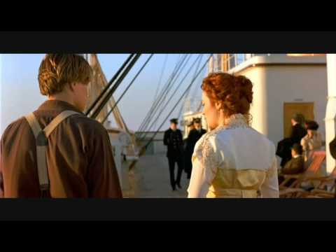Titanic (Rose and Jack) I'm Alive - Celine Dion