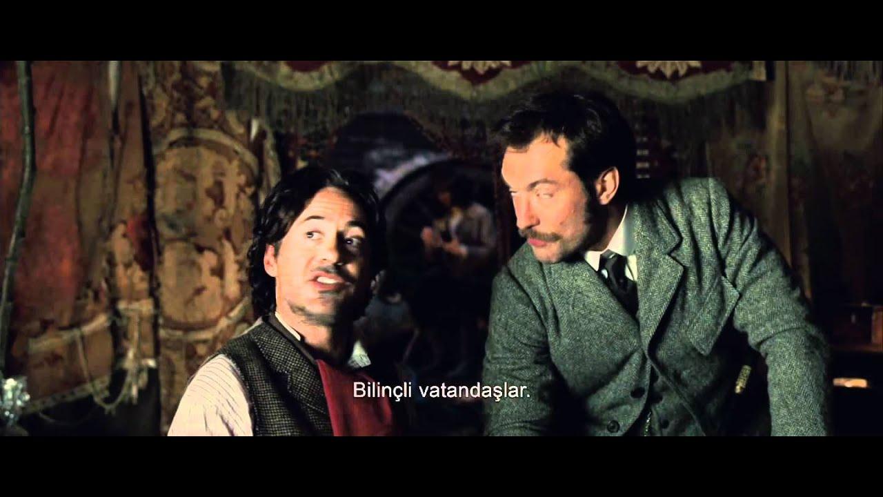 Sherlock Holmes: Gölge Oyunları: Türkçe Altyazılı Fragman