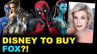 Disney to BUY Fox? BREAKDOWN
