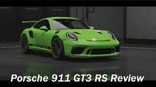 2019 Porsche 911 GT3 RS Review (Forza Motorsport 7)