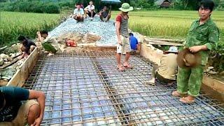 Cầu Nà Pù Khuổi Niềng hướng tới ngày hoàn thành. Nguyễn Tất Thắng