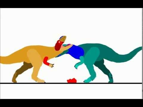 PDD - Alioramus vs Alectrosaurus | Miguelisaurus.