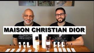NEW Maison Christian Dior Collection Overview with Redolessence + GIVEAWAY (CLOSED)