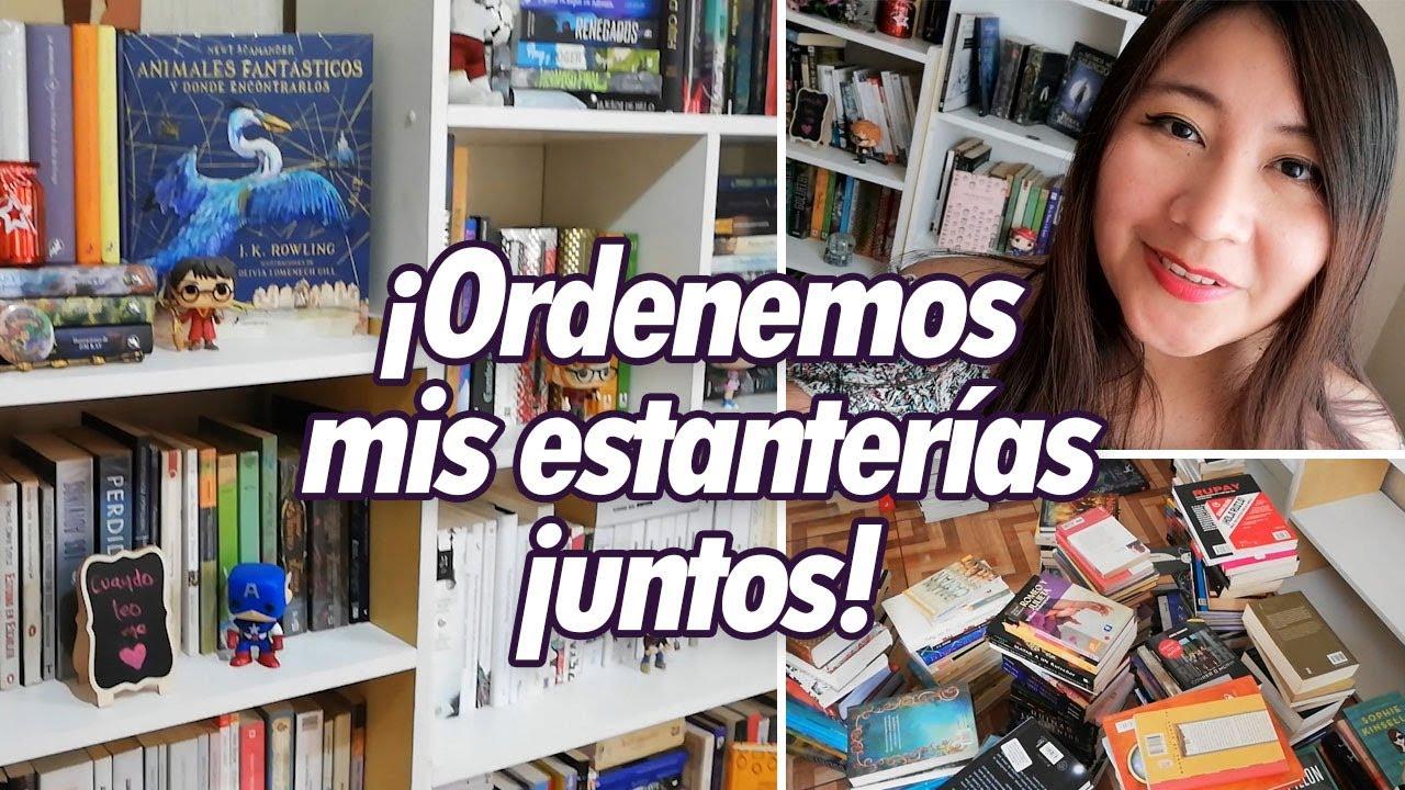 ¡Ordenemos mis estanterías juntos! ♥