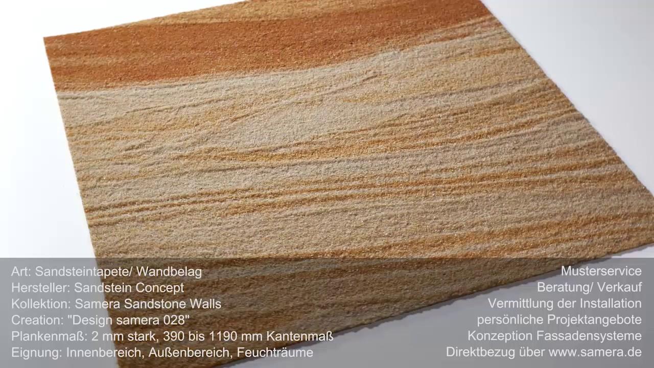 Sandstein Wandverkleidung Sandsteintapete Architekt Design Ag Samera