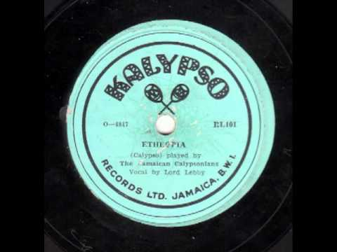 Etheopia [10 inch] - Lord Lebby and The Jamaican Calypsonians
