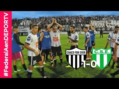 Chaco For Ever 1-0 Estudiantes (SL) - Resumen y mejores jugadas - #FederalAenDEPORTV
