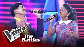 The Battles : Shemil Clinson V Maneesha Dewi | Munbe Vaa | The Voice Teen Sri Lanka
