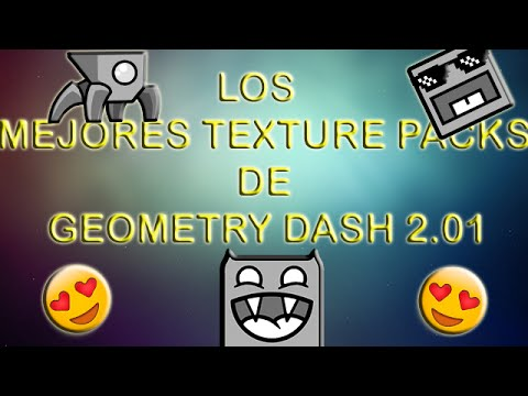how to add a texture pack to geometry dash