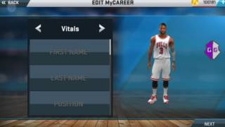 NBA 2k17 android v27mods (100% Tendencies fix with 44 Badges)