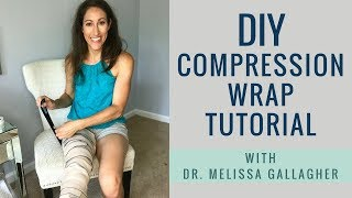 How to Compression Wrap for Lipedema & Lymphedema Patients | DIY Demo Roswell GA Lipedema Specialist