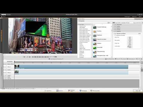 Bild- und Videomontage (BildinBild) in Nero Video 2016