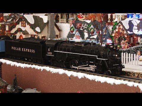 Polar Express Scale Heavyweight Complete Train