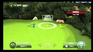 Tiger Woods PGA TOUR 12: The Masters, Wii - NCD Live, Episode 1, online gameplay w/ commentary
