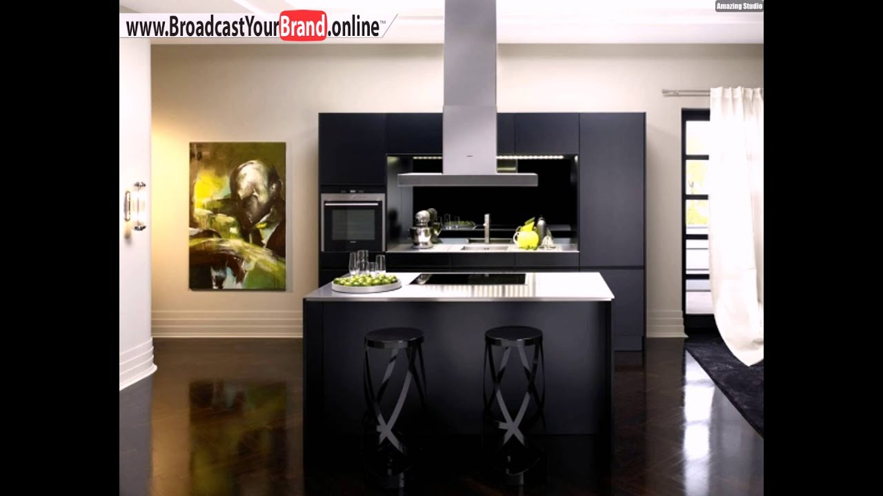 schwarze küche ultra modern siematic - youtube - Kche Siematic