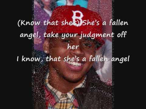 Chris Brown Fallen Angel *WITH LYRICS*