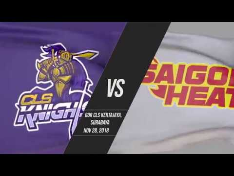 CLS Knights Indonesia v Saigon Heat | Highlights | 2018-2019 ASEAN Basketball League