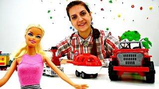 Видео для девочек: Барби и виды транспорта