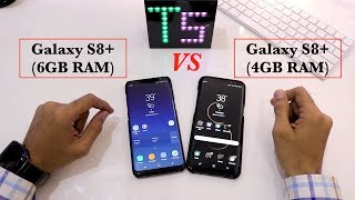 GALAXY S8+(6GB RAM) Vs GALAXY S8+(4GB RAM) SPEED TEST