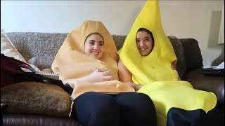 dressing up as food for 24 hours w/ chi with a c