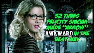"32 Times Felicity Smoak Made ""Arrow"" Awkward In The Best Way"