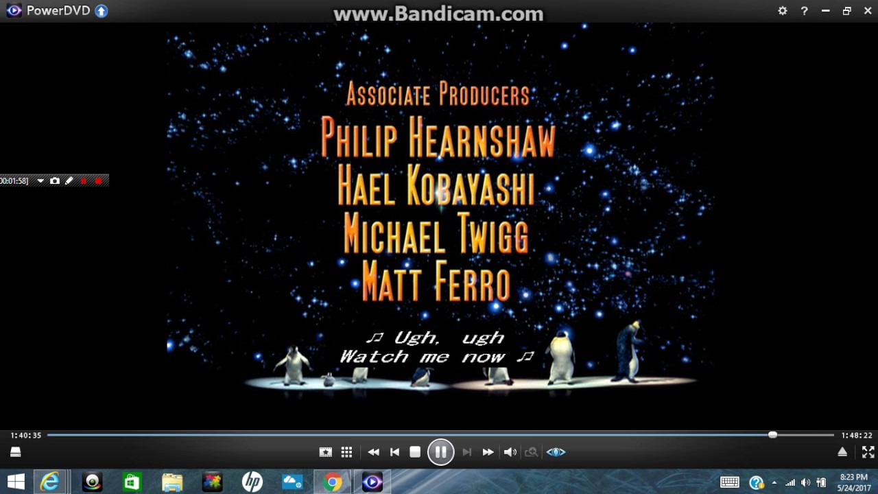Happy Feet End Credits Prince's The Song Of The Heart ...