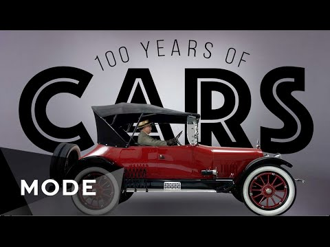 100 Years of Cars ★ Mode.com